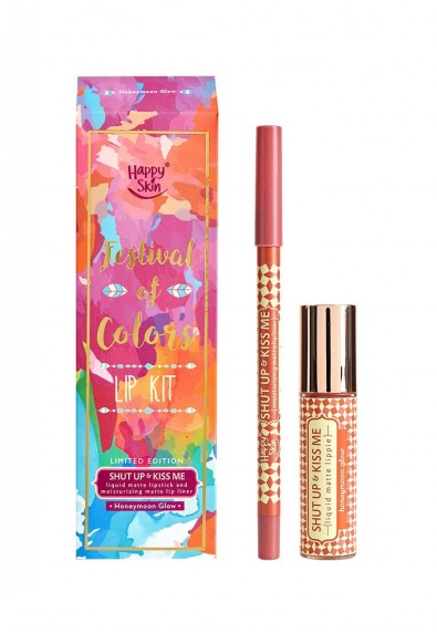 Festival Of Colors Lip Kit In Honeymoon Glow