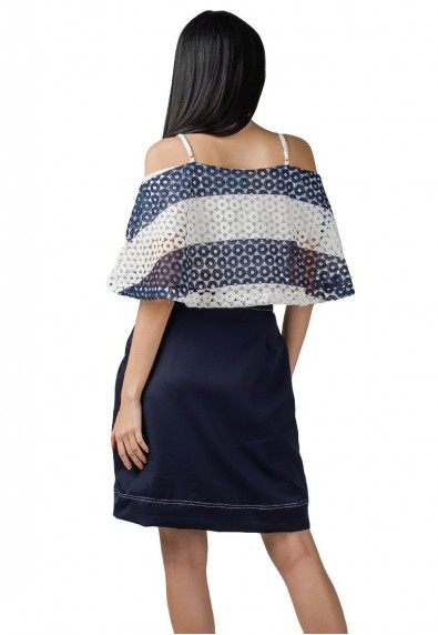 VESSEL OFFSHOULDER DRESS