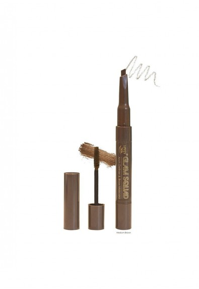 Happy Skin Glam Squad Arch Definer & Brown Mascara in Light Brown