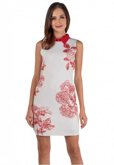 HIBISCUS S/L DRESS