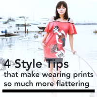 4 Style Tips That Make Wearing Prints So Much More Flattering