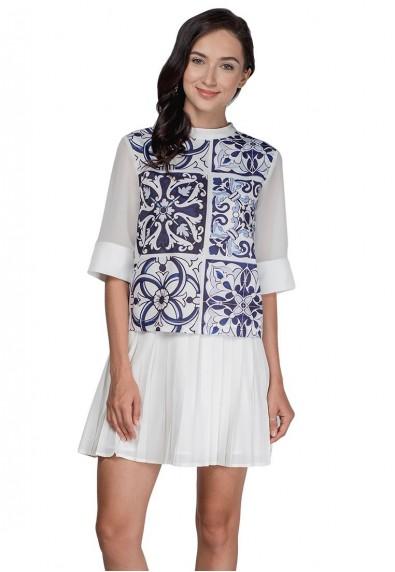 PHELIPE 3/4 DRESS
