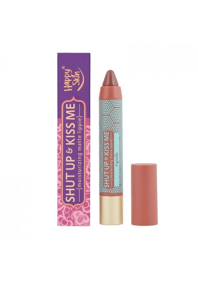 Shut Up & Kiss Me Moisturizing Matte Lippie In Goals