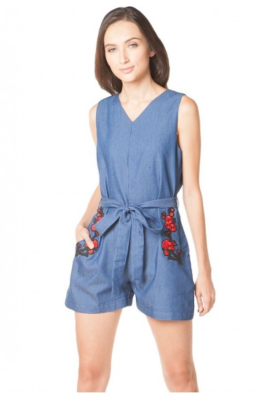 SABER S/L PLAYSUIT