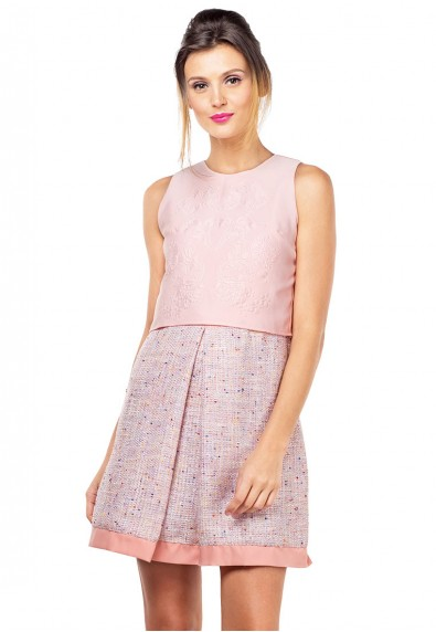 BLUSH BEAUTY S/L BARBIE DRESS
