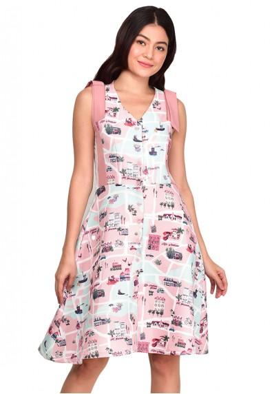 BEVERLEE SL DRESS
