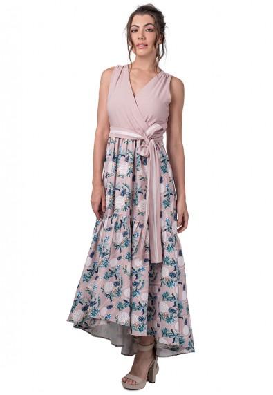 CARMENN S/L MAXI DRESS