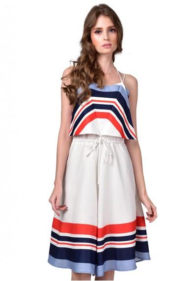 CAROLE S/L DRESS