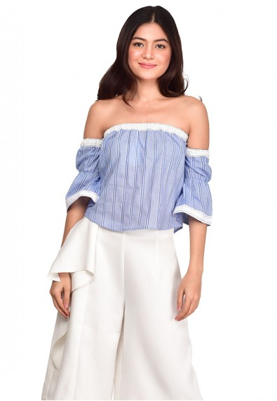 CHANTILLY OFF SHOULDER