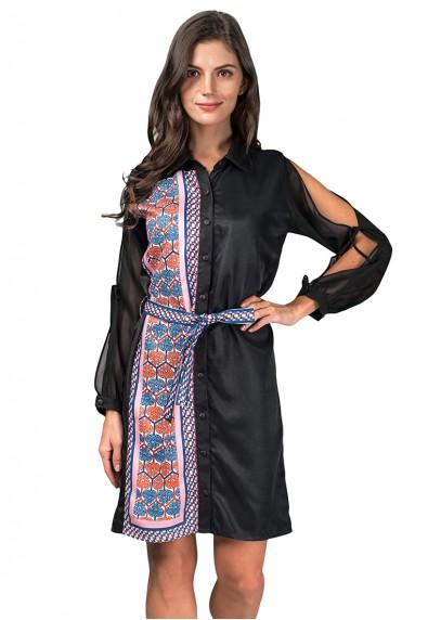 EVEETA L/S DRESS