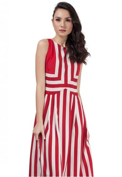 PYROPE S/L MAXI DRESS