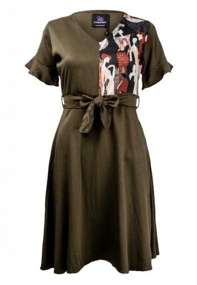 BEKKAH C/S DRESS