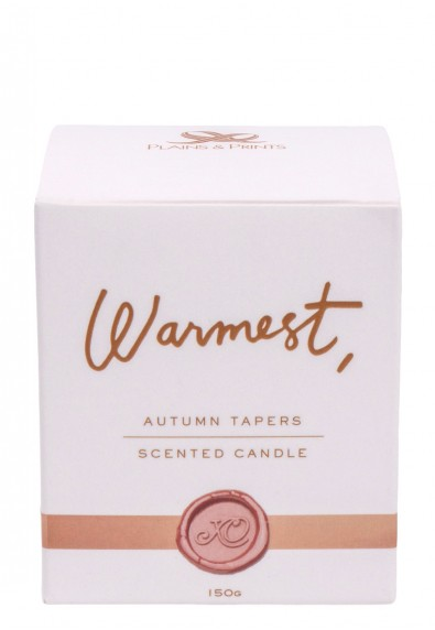 WARMEST BIG AUTUMN TAPERS
