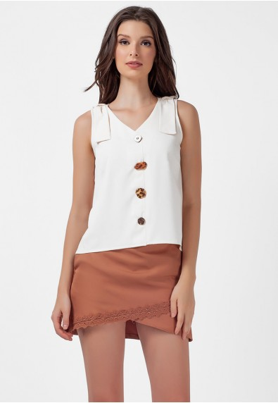 SAN REMO LARK SLEEVELESS TOP