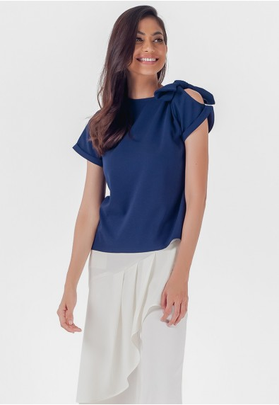 Mysterious Elements Naddie Short Sleeves Top