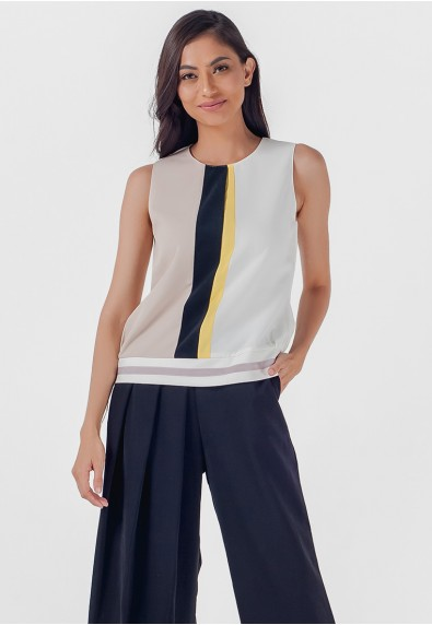 Mysterious Elements Nicholl Sleeveless Top