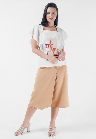 Mysterious Elements Nava Short Sleeves Top