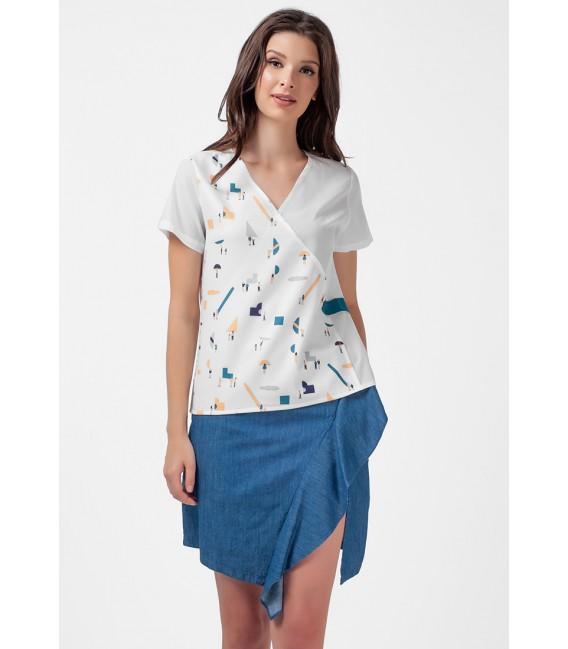 Blissful Harmony Montanah Short Sleeves top