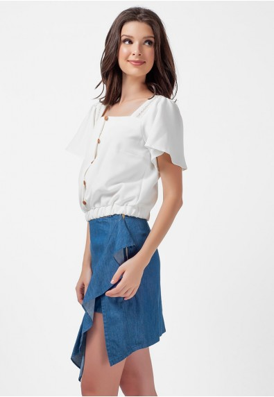 Blissful Harmony Mirriah Short Sleeves Top