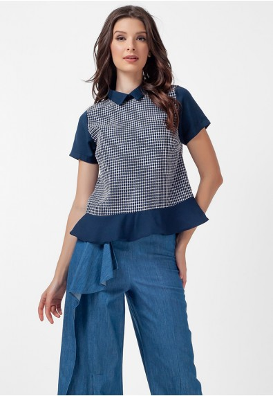 Blissful Harmony Myra Short Sleeves Top