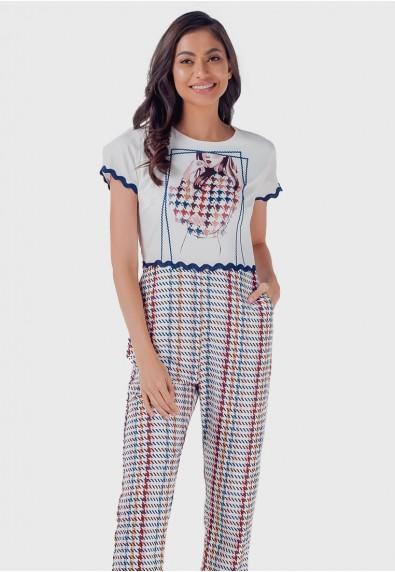 Blissful Harmony Monicah Short Sleeves Pantsuit