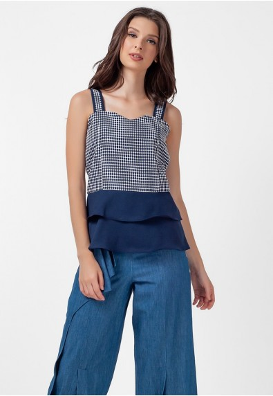 Blissful Harmony Myra Sleeveless Top