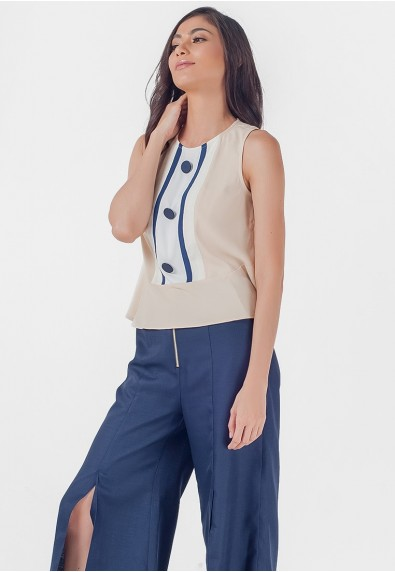 Blissful Harmony Monrroe Sleeveless Top