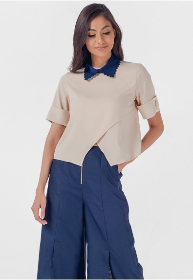 Blissful Harmony Monrroe Short Sleeves Top