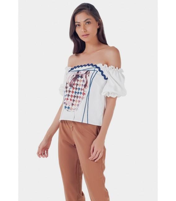 Blissful Harmony Monicah Short Sleeves Top
