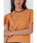 Blissful Harmony Melodee Short Sleeves Top
