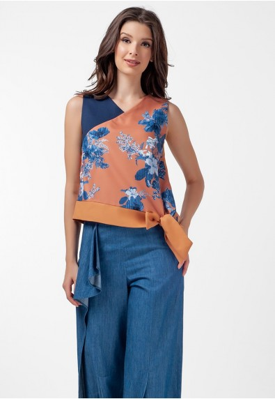 Blissful Harmony Mattea Sleeveless Top