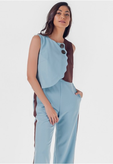 Blissful Harmony Merissa Sleeveless Pantsuit