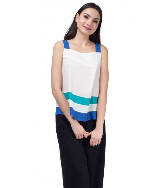 SAN REMO LOVE SLEEVELESS TOP