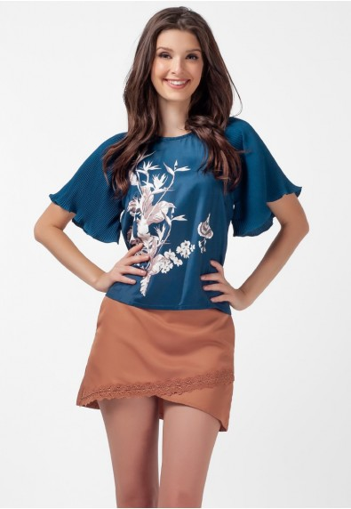 SAN REMO LOUELLA SHORT SLEEVES TOP