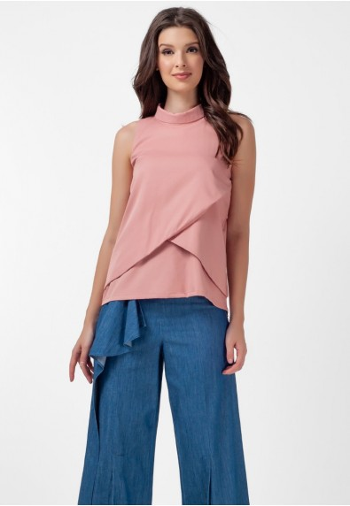 SAN REMO LAVANDER SLEEVELESS TOP