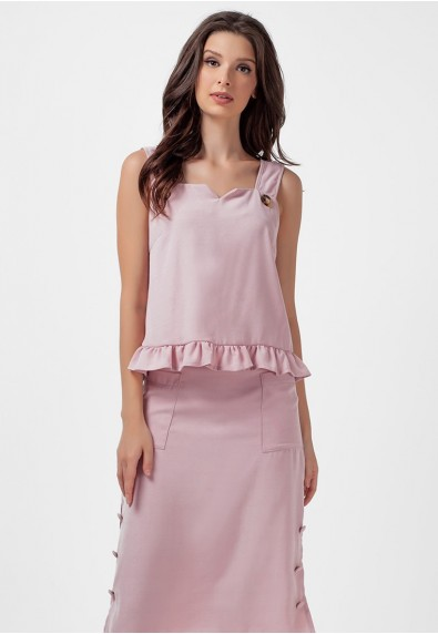 SAN REMO LAPIZ SLEEVELESS TOP