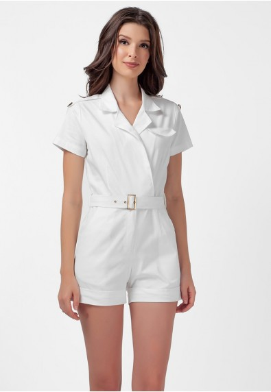 SAN REMO LOXTON SHORT SLEEVES PLAYSUIT