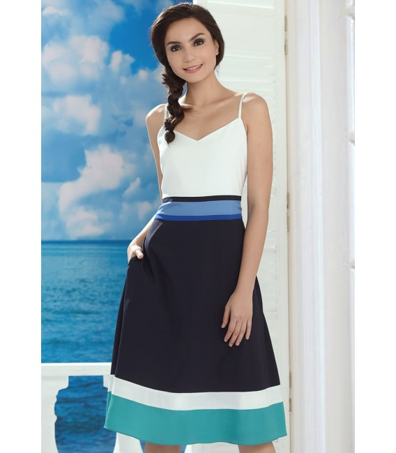 SAN REMO LOVE SLEEVELESS DRESS