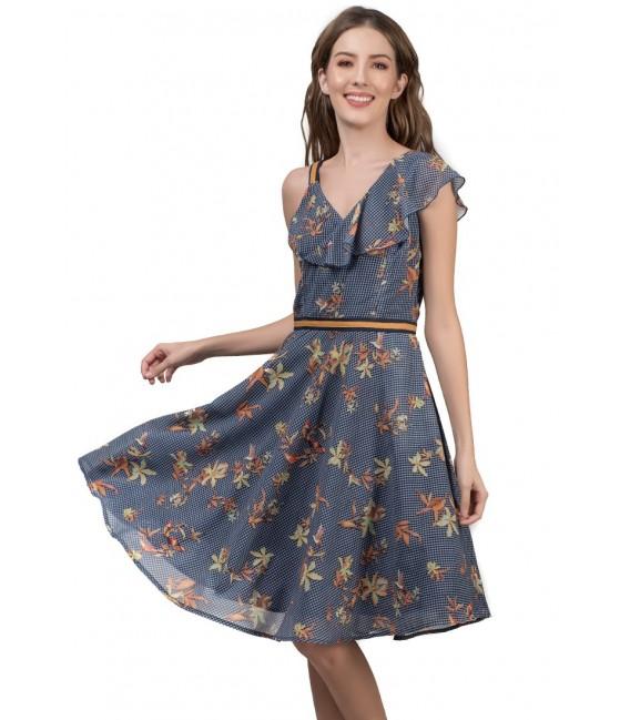 RIVIERA JALYKA S/L DRESS