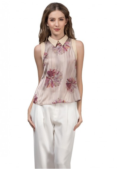 RIVIERA JERMY SLEEVELESS TOP