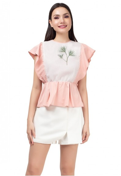 MARBELLA KLARISSA SHORT SLEEVES TOP