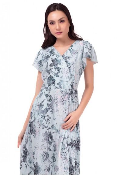 MARBELLA KRISTINNA SHORT SLEEVES DRESS