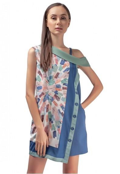 MARBELLA KAMILLAH SLEEVELESS DRESS