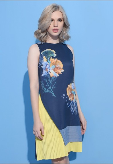 BLUEPERIOD SNORKEL SLEEVELESS DRESS