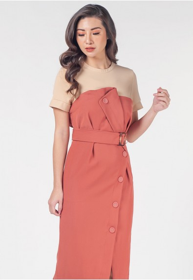 Mysterious Elements Nord Short Sleeves Dress
