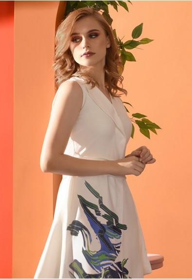 Romantic Interlude Ozanne Sleeveless Dress