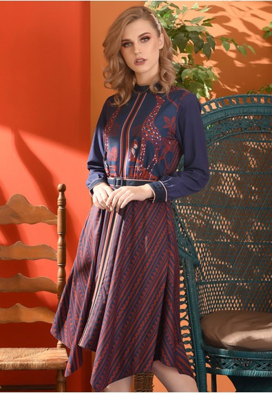 Romantic Interlude Omorose Long Sleeves Dress