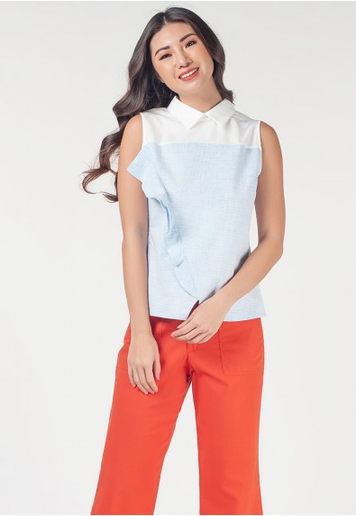 Romantic Interlude Omnia Sleeveless Top