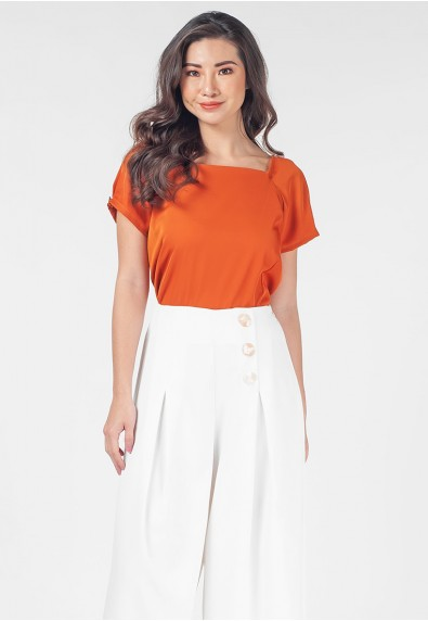 Romantic Interlude Olixia Short Sleeves Top