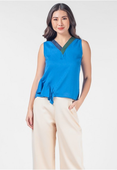 Romantic Interlude Onicha Sleeveless Top